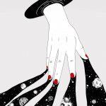 MOKO realizza poetiche illustrazioni in bianco e nero | Collater.al 11