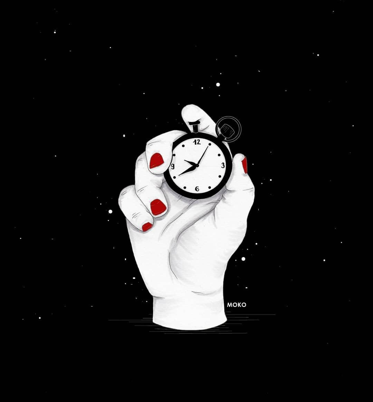 MOKO realizza poetiche illustrazioni in bianco e nero | Collater.al