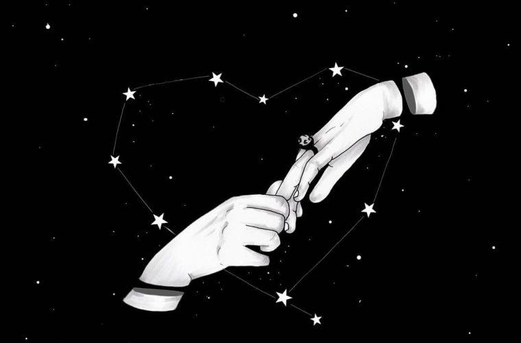 MOKO realizza poetiche illustrazioni in bianco e nero