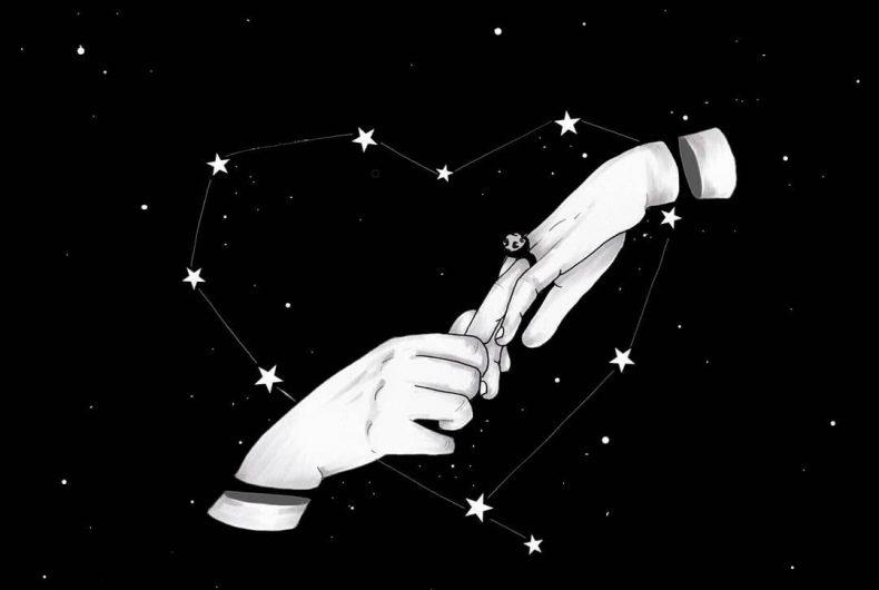 MOKO creates poetic black and white illustrations