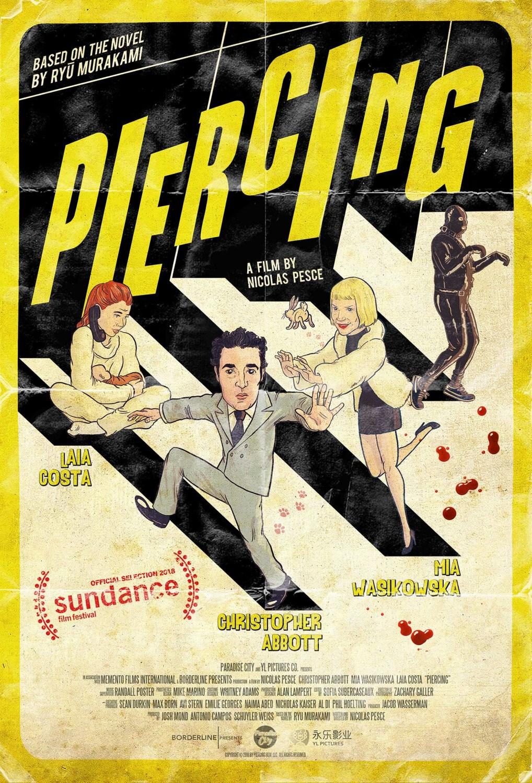 Piercing è il nuovo film disturbante con Mia Wasikowska | Collater.al 1