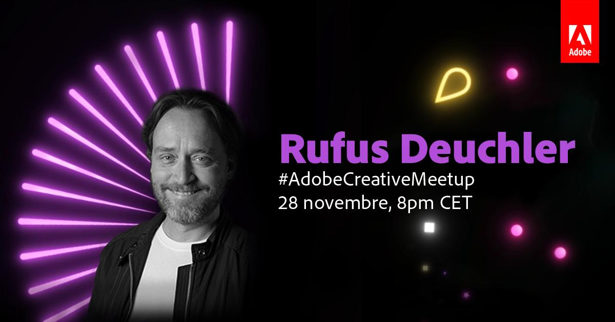 Scopri come seguire in diretta Adobe Creative Meetup del 28 novembre | Collater.al 3