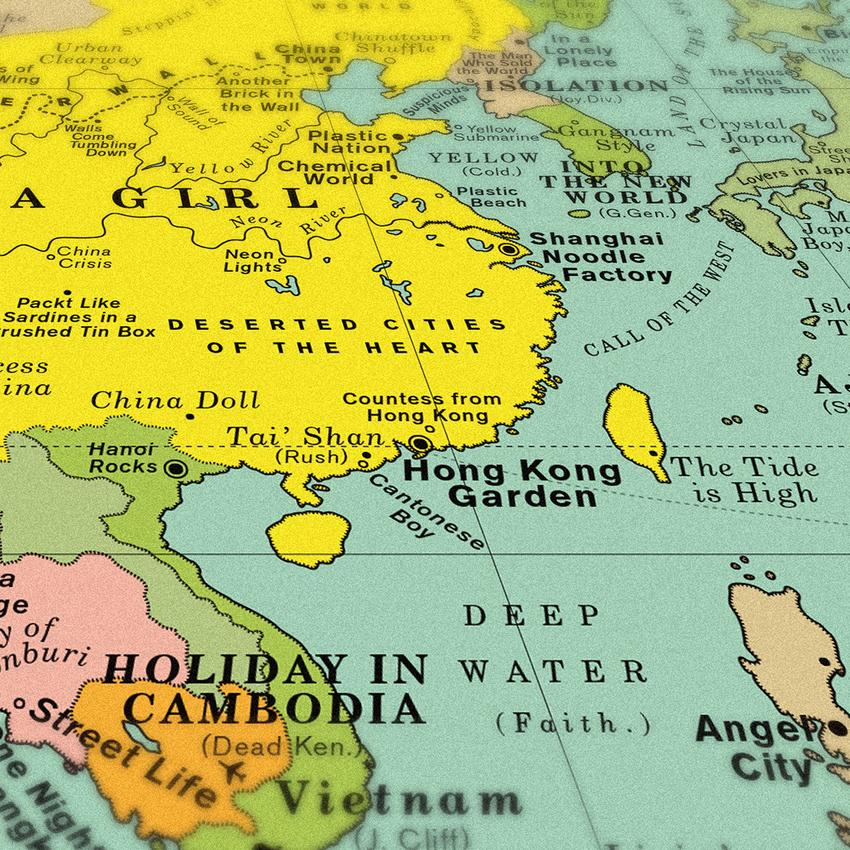 World Song Map | Collater.al