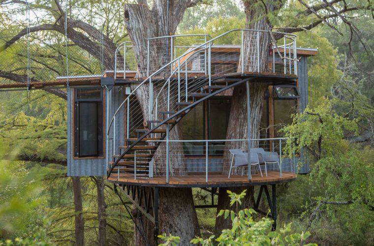 Yoki Treehouse, la casa sull'albero più bella che abbiate mai visto