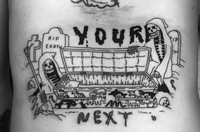 Il black humor dei tatuaggi di seanfromtexas
