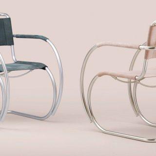 100 anni di Bauhaus, la rivisitazione della sedia cult S 533   Collater.al