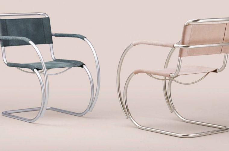 100 years of Bauhaus, a reinterpretation of cult chair S 533
