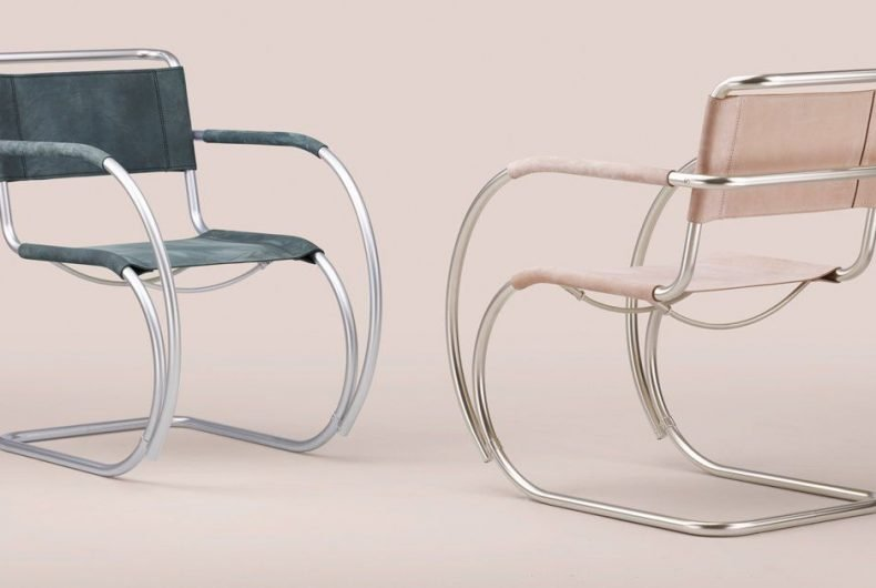 100 years of Bauhaus, a reinterpretation of cult chair S 533