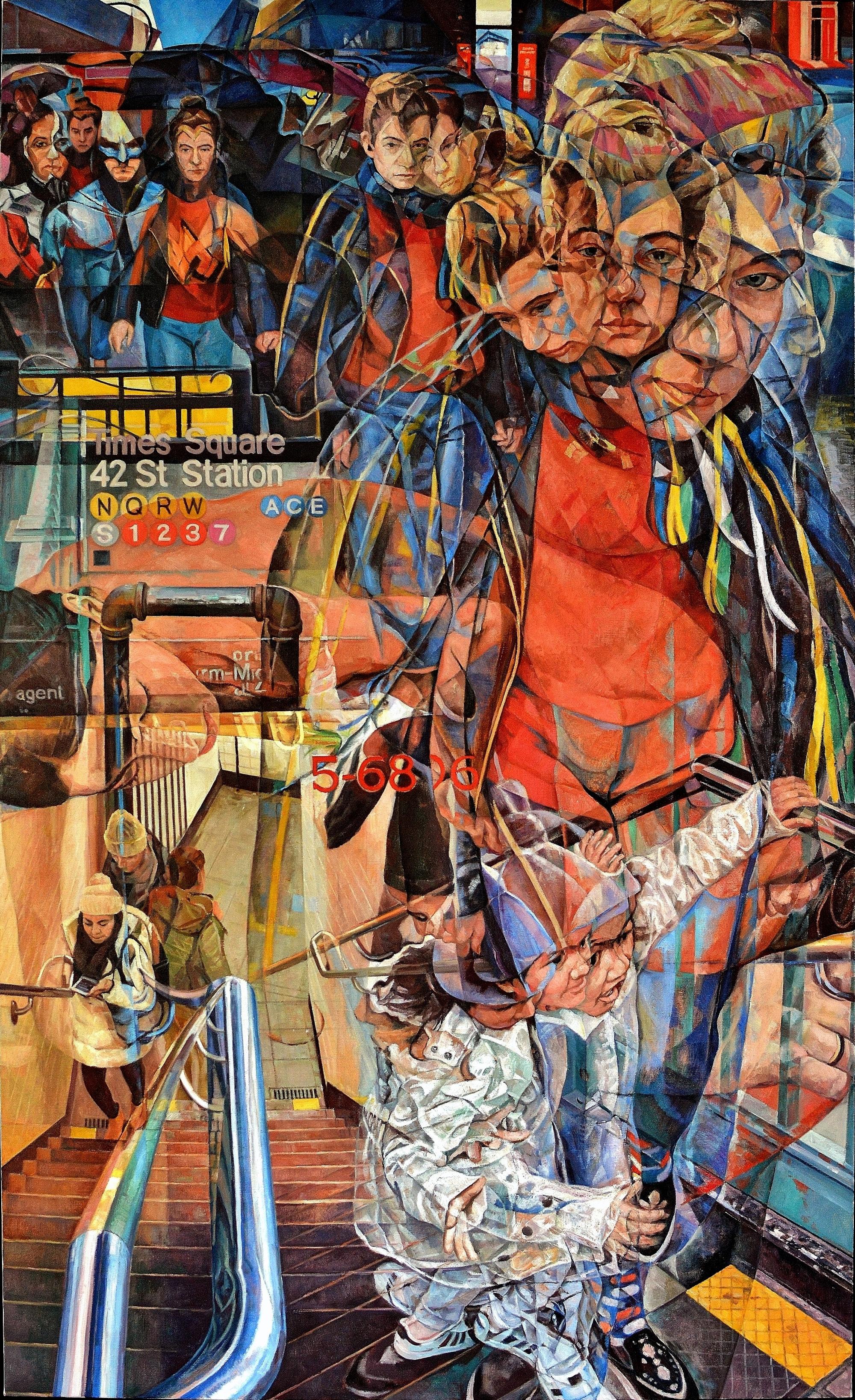 La rappresentazione del tempo nei dipinti di Clive Head | Collater.al