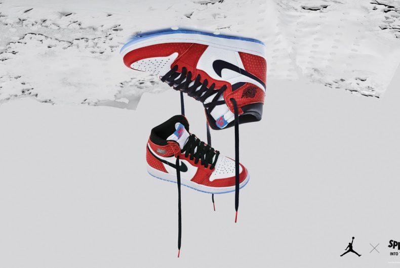 Scopri le Air Jordan ispirate a Spider-Man: Un nuovo universo