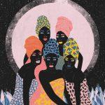 Ballando al chiaro di luna- le grafiche di Ignacia Ossandon | Collater.al 1