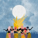 Ballando al chiaro di luna- le grafiche di Ignacia Ossandon | Collater.al 14