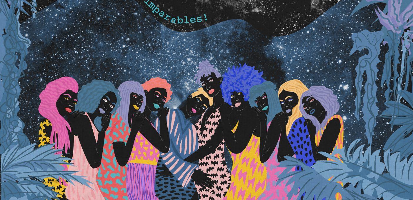 Ballando al chiaro di luna: le grafiche di Ignacia Ossandon