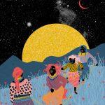 Ballando al chiaro di luna- le grafiche di Ignacia Ossandon | Collater.al 4