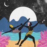 Ballando al chiaro di luna- le grafiche di Ignacia Ossandon | Collater.al 7