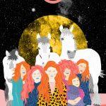 Ballando al chiaro di luna- le grafiche di Ignacia Ossandon | Collater.al 8