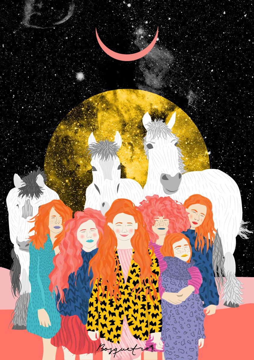 Ballando al chiaro di luna: le grafiche di Ignacia Ossandon | Collater.al