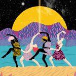 Ballando al chiaro di luna- le grafiche di Ignacia Ossandon | Collater.al