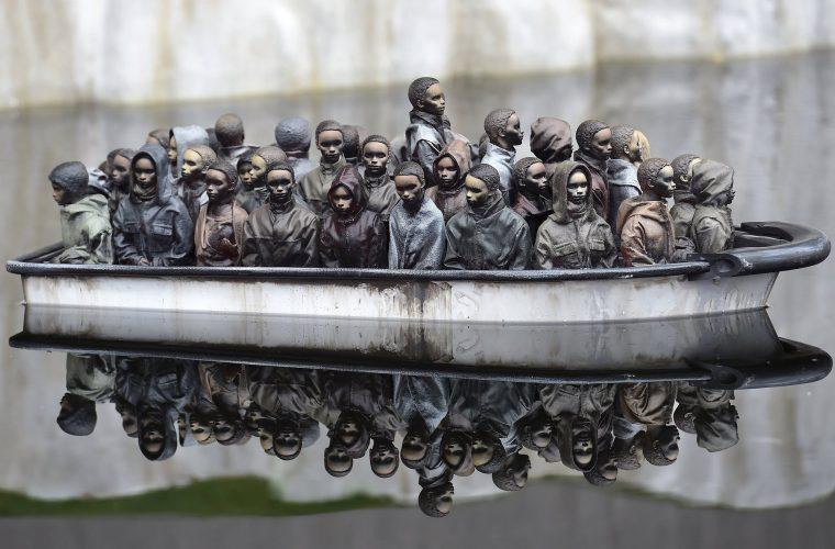 Banksy ha messo in vendita una sua opera per sole 2 sterline