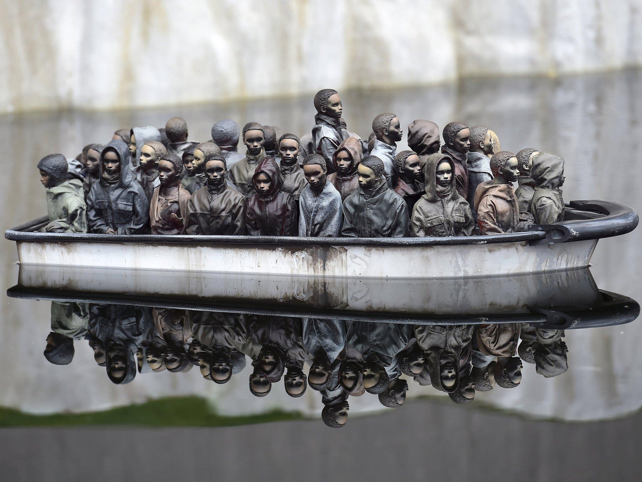 Banksy ha messo in vendita una sua opera per soli 2 sterline | Collater.al