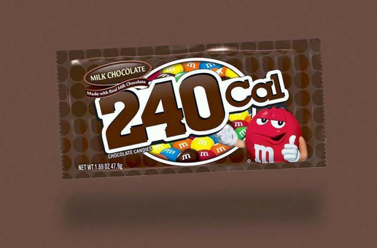 Calorie Brands, se le calorie sostituissero i nomi degli snack