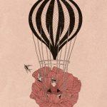 Colori caldi ed intimità nelle illustrazioni di Martina Francone | Collater.al 1