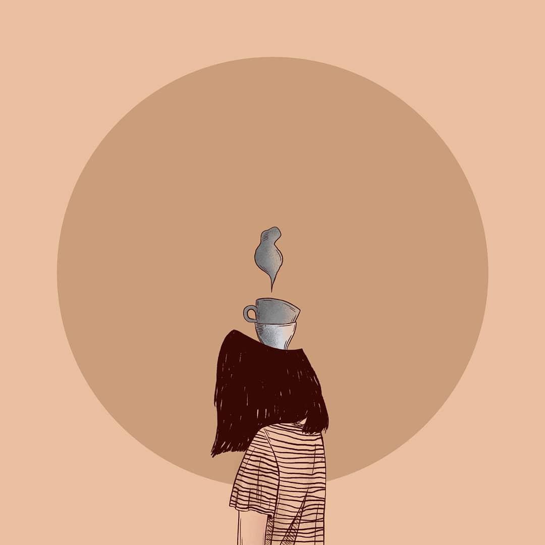 Colori caldi ed intimità nelle illustrazioni di Martina Francone | Collater.al