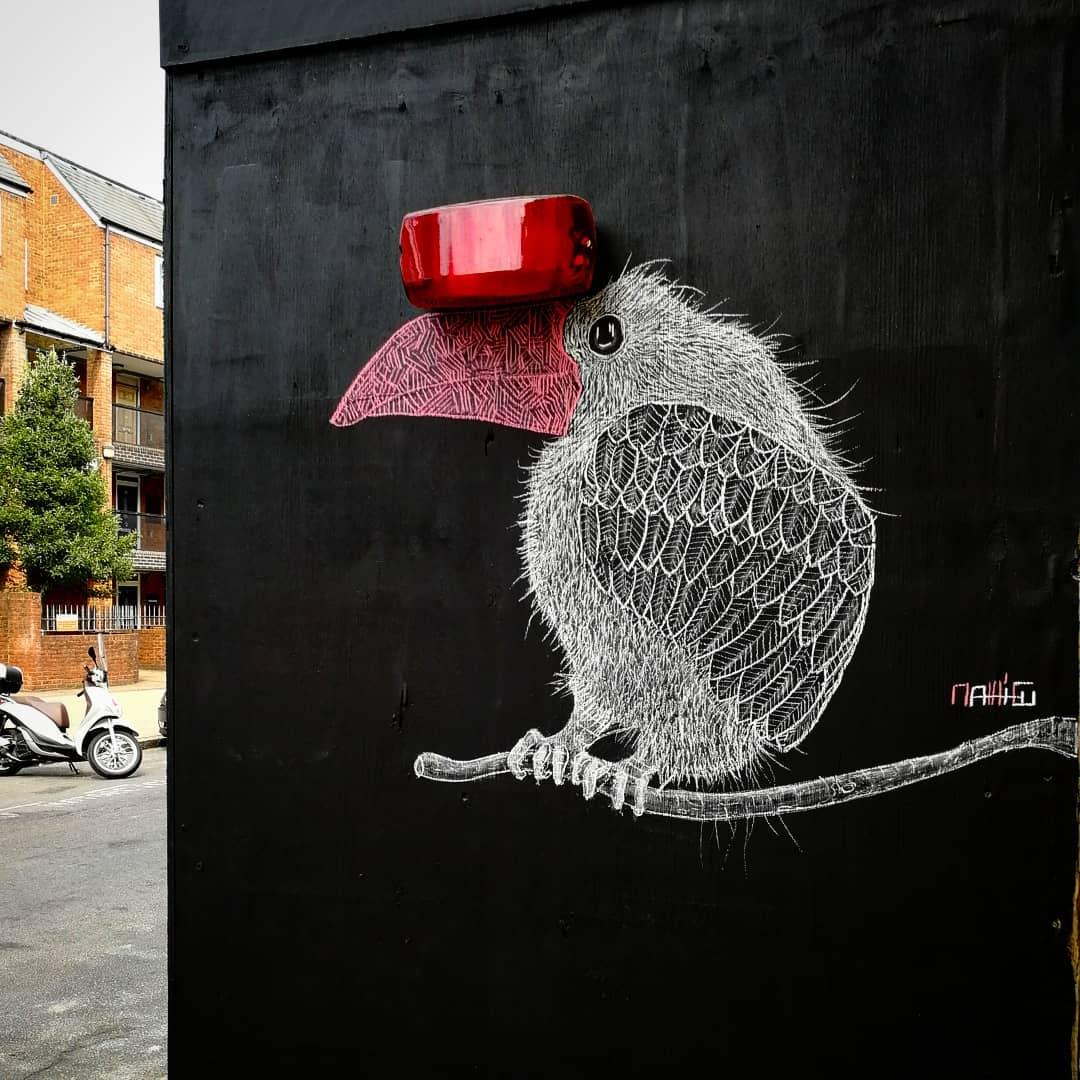 Gli animali di Matt_tieu popolano le città | Collater.al 1