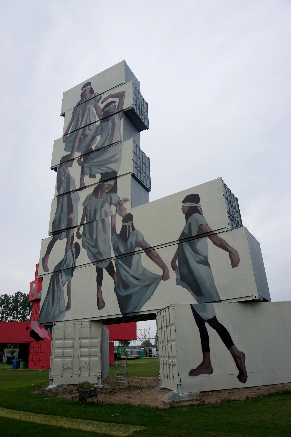 I nuovi incredibili lavori della street artist Hyuro | Collater.al