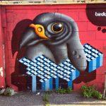 I totem tridimensionali nella street art di BirdO | Collater.al 1