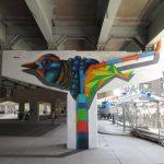 I totem tridimensionali nella street art di BirdO | Collater.al 10