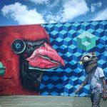 I totem tridimensionali nella street art di BirdO | Collater.al 14