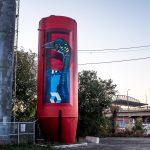 I totem tridimensionali nella street art di BirdO | Collater.al 5