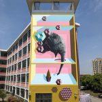 I totem tridimensionali nella street art di BirdO | Collater.al 9