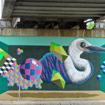 I totem tridimensionali nella street art di BirdO | Collater.al