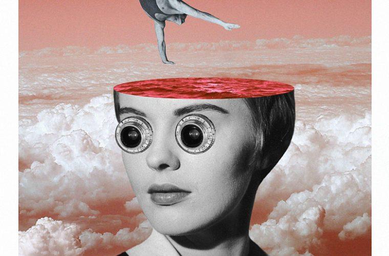 Upside down world in Serg Nehaev's collages