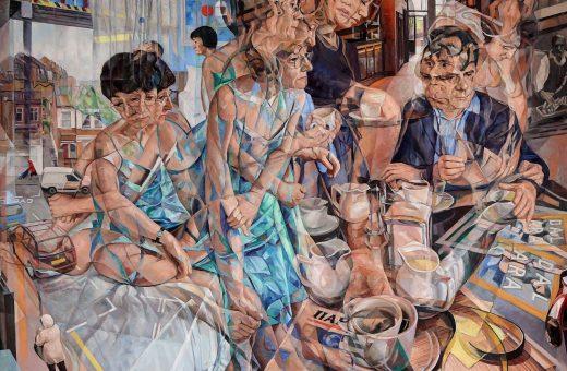 La rappresentazione del tempo nei dipinti di Clive Head