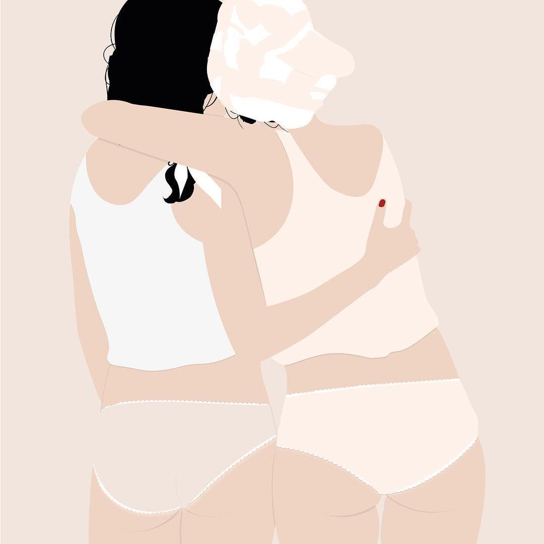 La sensualità dei dettaglinelle illustrazioni diLucile Gayot | Collater.al