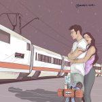 La sensualità del quotidiano nelle illustrazioni di Maria Uve | Collater.al 10