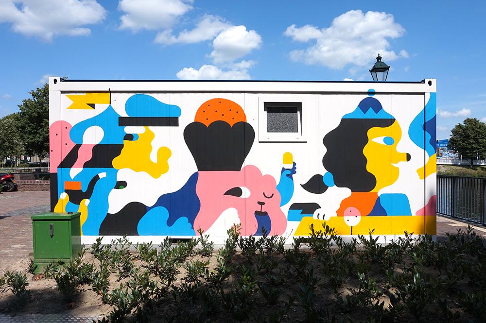 La street art grafica e pop diRick Berkelmans | Collater.al
