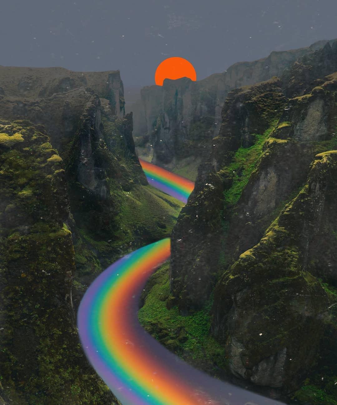 Le grafiche di Indig0 sono un viaggio tra mondi paralleli | Collater.al