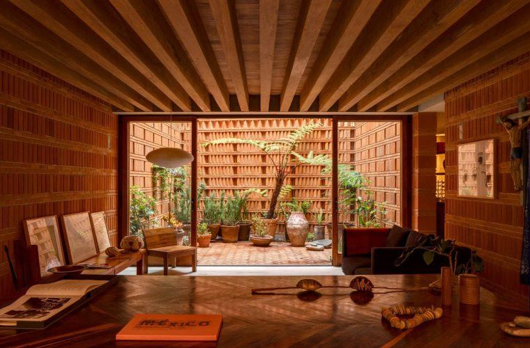 A red brick studio for photographer Graciela Iturbide