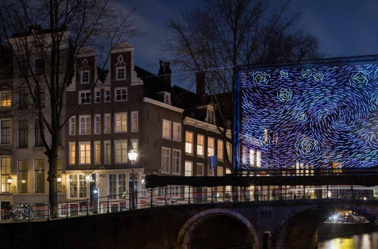 Starry Night, Amsterdam becomes Van Gogh's masterpiece
