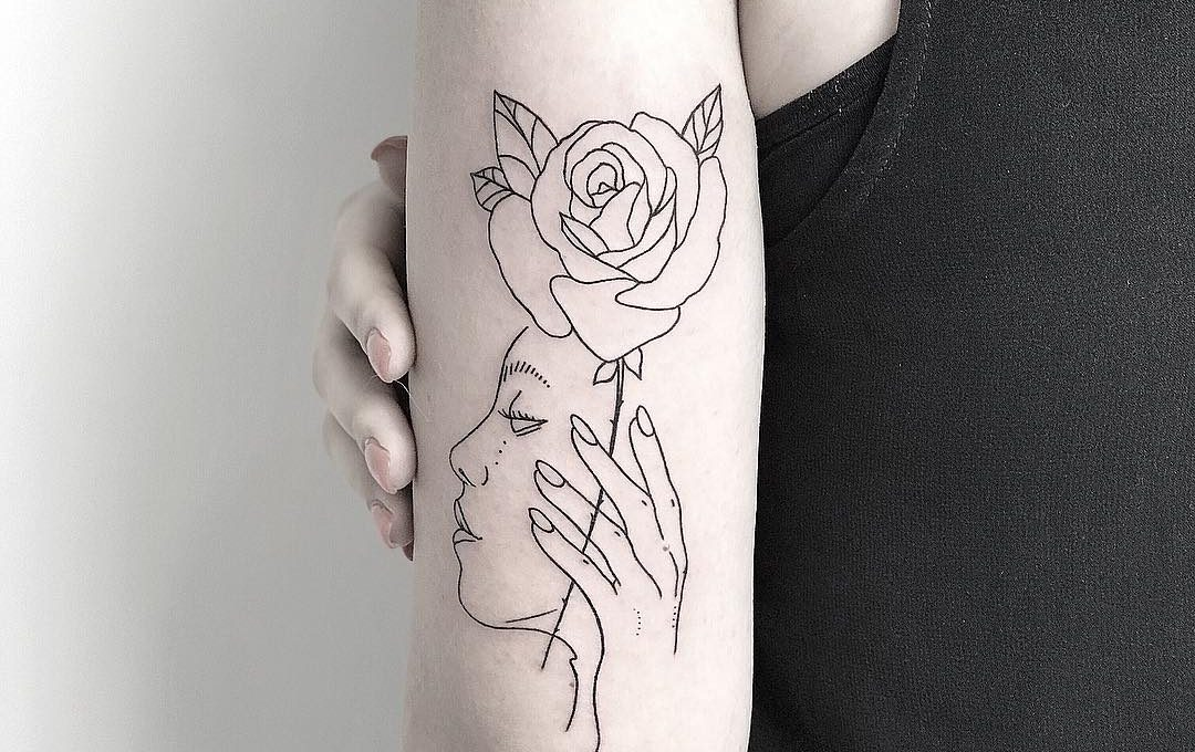 A tattoo a day , Nechaevtatink's Instagram diary