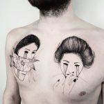 Lo stile pop dei tatuaggi di Matteo Nangeroni | Collater.al 14