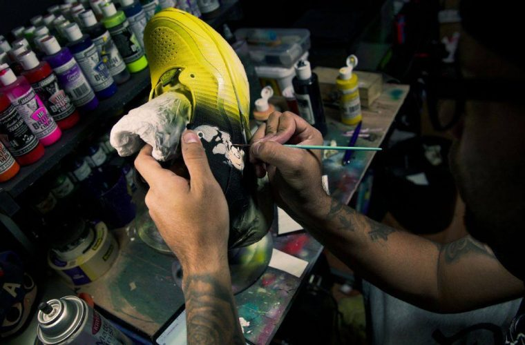 "A Signature Story – Sneaker as Canvas: 15 Auteur ""Canvases"""