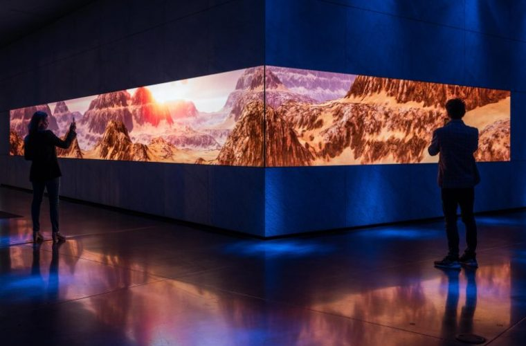 Asteria, the massive immersive installations at Dolby Gallery