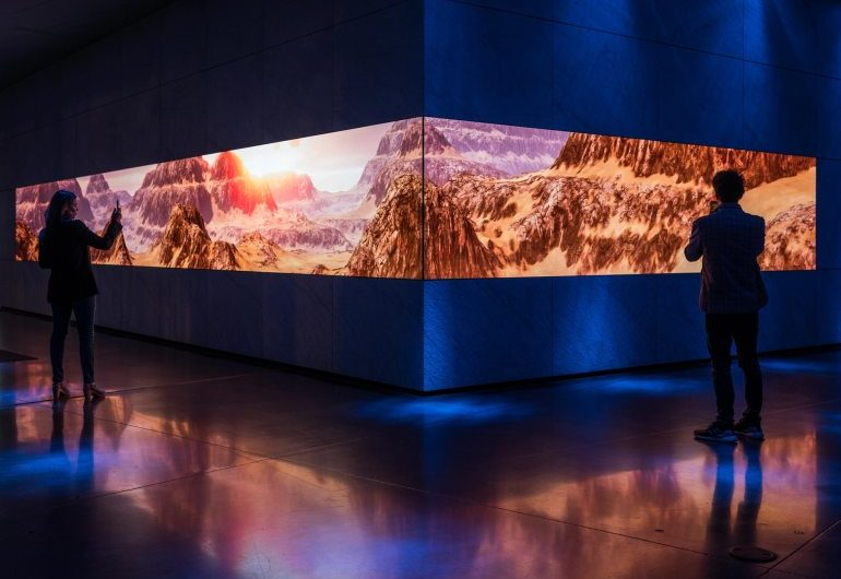 Asteria, installazioni immersive alla Dolby Gallery