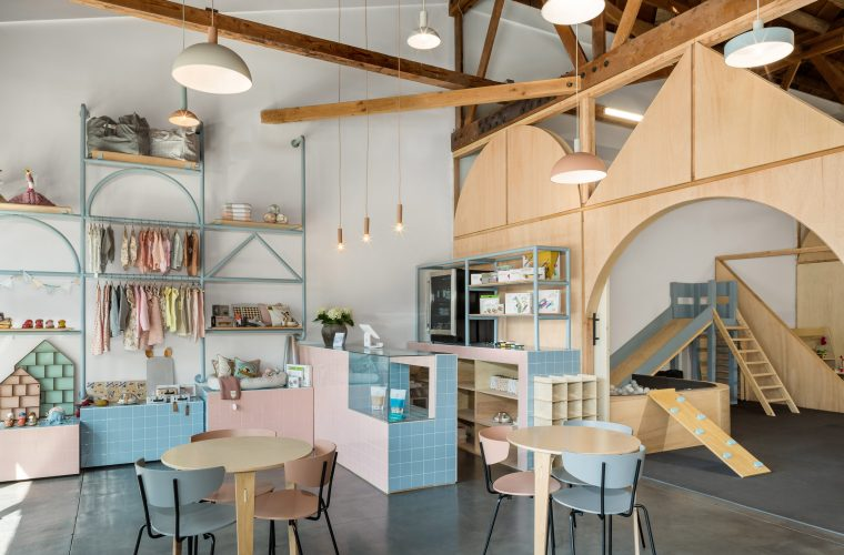 Big and Tiny, the perfect co-working space for families