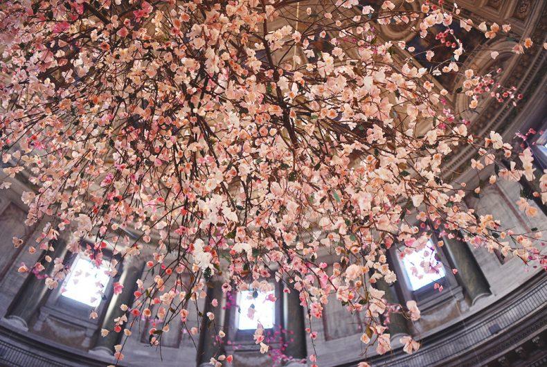 Cherish, Veronica Hodges' floral installation